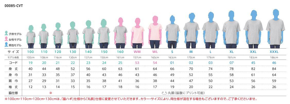 品質とタフネス性に優れた、日本で一番売れてるTシャツ!
